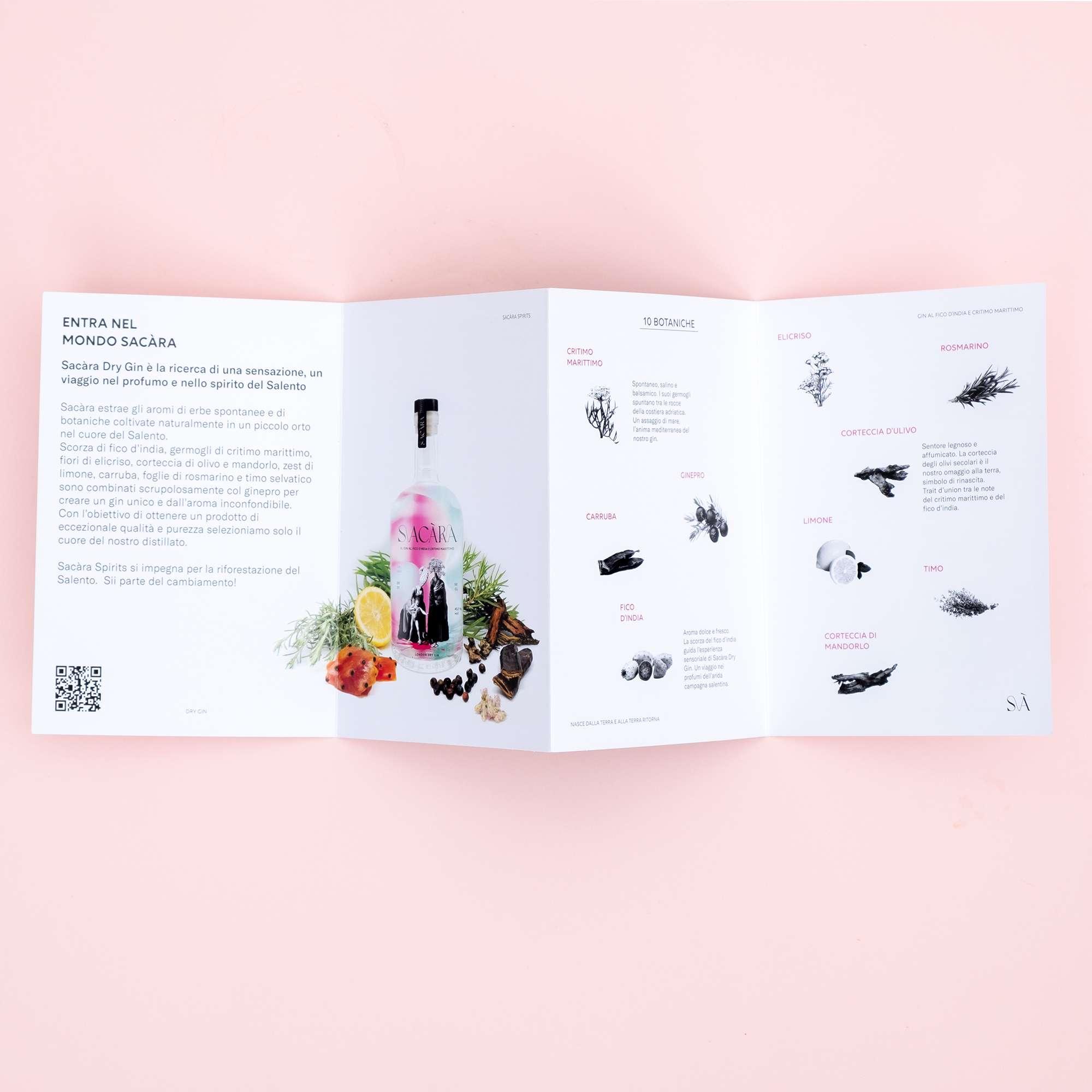 Sacara Spirits brochure